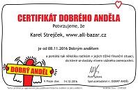 Certifikat dobrého anděla