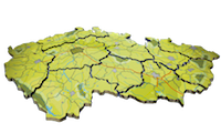 ČR mapa