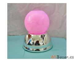 Magický ledový míč - svítidlo se změnou barev-vířivé