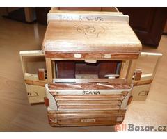 Dřevěný model - Scanie