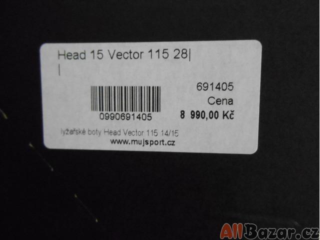 ... Pánské sjezdové boty HEAD Vector 115 ... 7fab38fe25