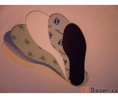 Vkládací vložky do obuvi - nadměrné velikosti