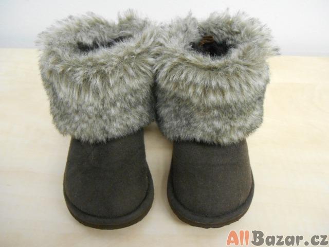 Dětské zimní válenky, sněhule H&M