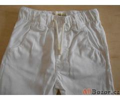 Dětské letní bílé kalhoty NEXT