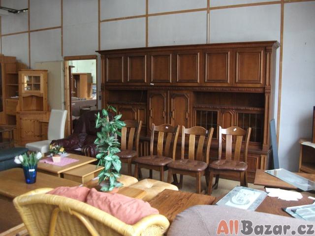 obývací rustikální stěna, cena 5800,-Kč
