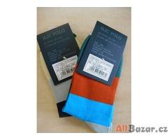 dětské ponožky RL - velikost 27 - nové