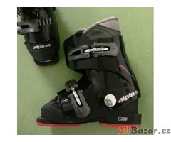 Dětské lyžařské boty Alpina, velikost 28