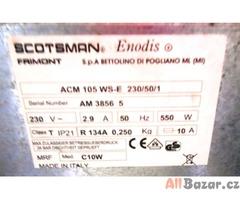 Výrobník ledu SCOTSMAN s odpadovým čerpadlem-chlazení vodou