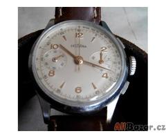 01297cd84 Hodinky DELBANA Chronograph, Landeron Caliber 48 | Praha | Bazar a ...