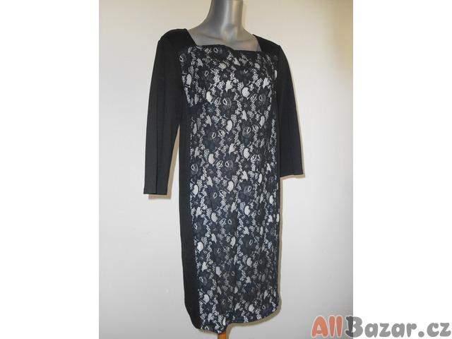 Elegantní černé šaty George VEL 12