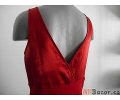Červené elegantní šaty VEL 14