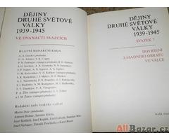 Kniha Dějiny Druhé světové války 1939 - 1945