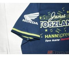 Nádherné motorkářské tričko Honda