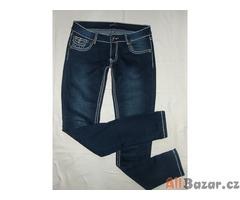 Nádherné elastické bokové jeansy