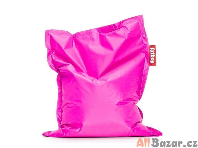 Sedací pytel Fatboy ORIGINÁL - Růžová barva - NOVÝ !!!