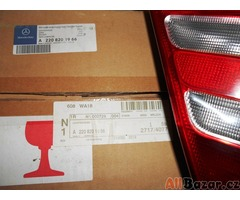 Zadní lampy - Mercedes S-Classe - 4 ks