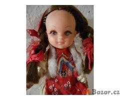 Stará porcelánová panenka - indiánka