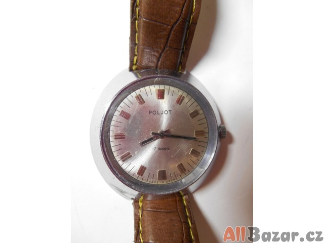 Starožitné sovětské hodinky Poljot