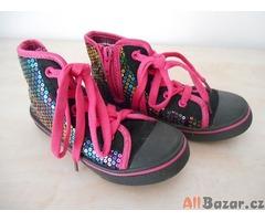 Dívčí kotníkové boty VEL 27