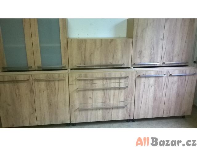 Kuchyňská linka - DUB 270cm