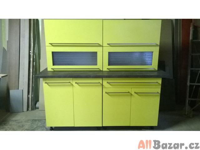 Kuchyňská linka - žlutá 160cm