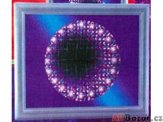 """Svítící obraz """"DIAMOND"""" s proměnami  - vhodné i pro Snoezelen"""