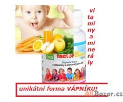 Vitamíny a minerály pro děti!