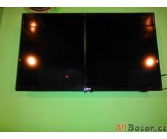 Prodám televizir LG uhlopříčka 107 cm