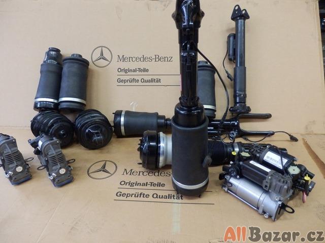 Prodám na Mercedes-Benz měchy, tlumiče Airmatic