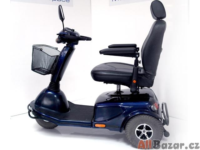 Repasovaný invalidní tříkolový skútr Excel Excite 3