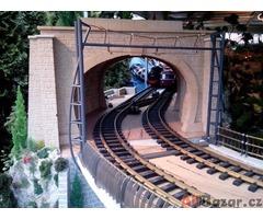 Pojízdný model zahradní železnice