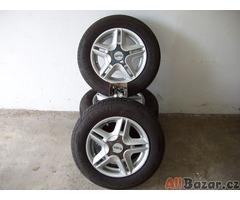 Prodám AL disky + pneu