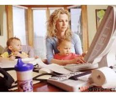 Jednoduchá administrativní práce na PC z domova