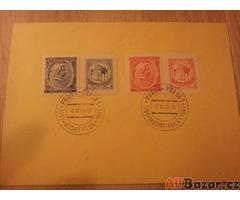 Sbírka sběratelských archů známek 1938-1945