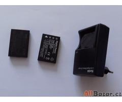 Baterie do fotoaparátu + nabíječka