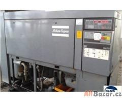 Prodej a servis šroubových kompresorů Atlas Copco.