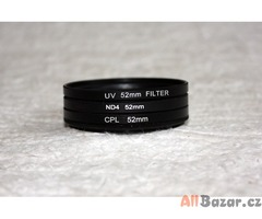 UV+CPL+ND4 52mm