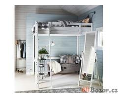 prodam partovou dřevěnou dvoj postel