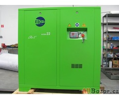 Šroubové a pistové kompresory ESOair