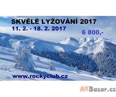 Lyžování v Transylvánských Alpách 2017