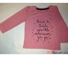 Dívčí růžové triko