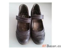 boty kožené