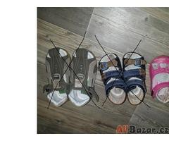 plné boty - střevíce dětské