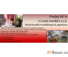 Prodej 49 % v Look models s.r.o.