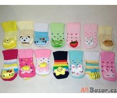 Newborn ponožky s hračkou