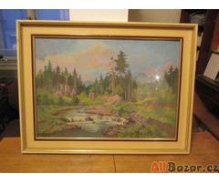 Prodám obrazy z pozůstalosti po malíři Jindřichu Michajlovovi