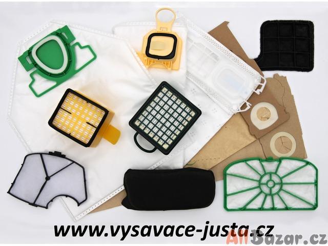 Sáčky a filtry  pro vysavače Vorwerk 118 až 150