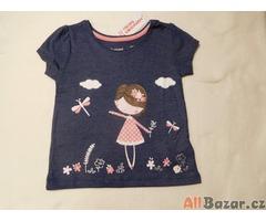 Letní dívčí trička 2 vzory