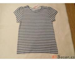 Dívčí pruhovaná trička 2 vzory