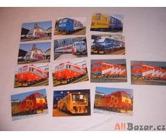 kalendáříky - lokomotivy